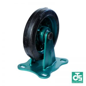 چرخ چدنی لاستیکی